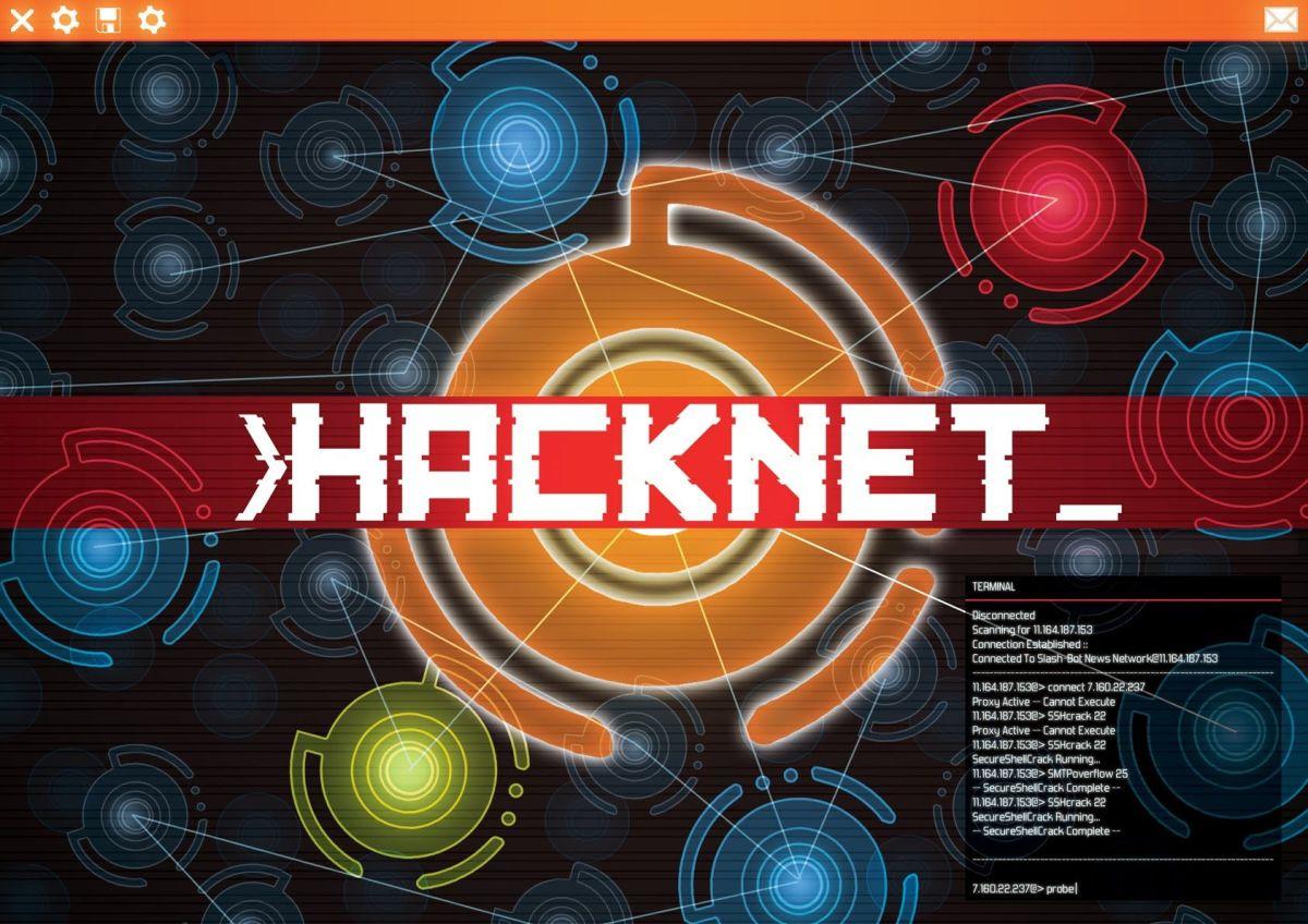 Hacknet, el juego que te enseña ciberseguridad desde dentro.