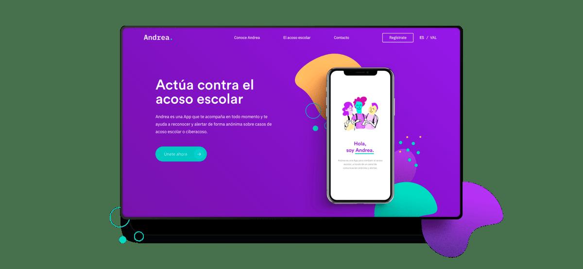'Andrea', la app contra el acoso escolar y el bullying.