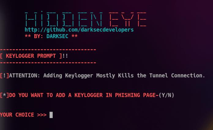 Figura 5: Keylogger? Yes, please