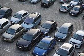 estacionamiento de vehículos