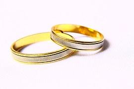 alianzas de boda -regimen economico matrimonial