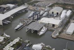Aerial photo of the Derecktor Florida yard-12/2012