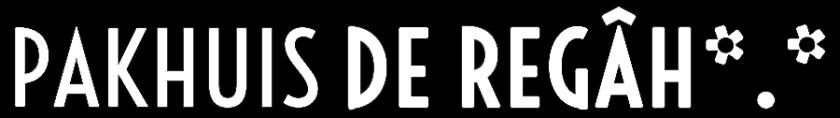 PAKHUIS DE REGAH Pakhuis De Zwijger in Den Haag logo compleet ZW web asterisk wild card logo