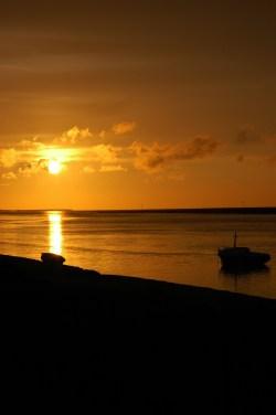Puesta del sol Saint Valery Francia 4