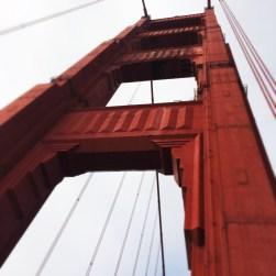Vista de la torre del Golden Gate