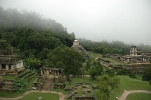 Ciudad prehispánica y parque nacional de Palenque, México