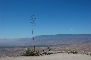Zona arqueológica de Monte Albán, Oaxaca, México