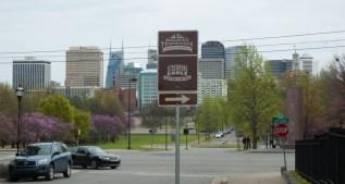Nashville Germantown skyline