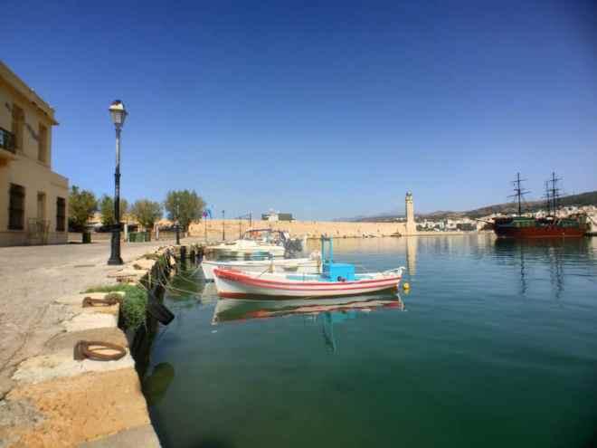 Oude haven van Rethymnon