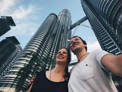 Hé, ook wij stonden natuurlijk tussen alle andere toeristen dezelfde foto te maken.
