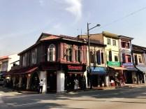 Typische gebouwen tijdens de StreetArt tour.