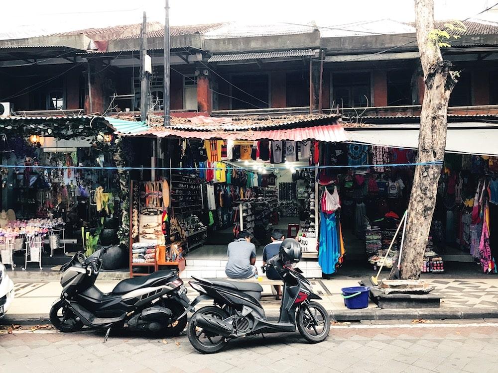 Kuta shops - Bali
