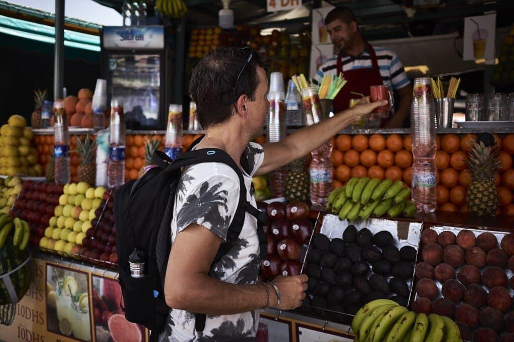 Marokko - De Reizigers - Djemaa el-Fna -2
