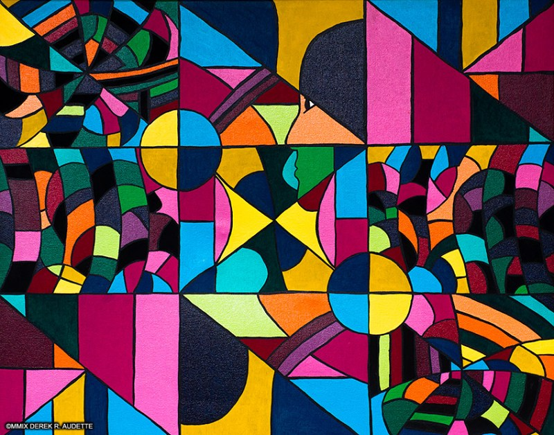 Abstract Acrylic Painting by Derek R. Audette