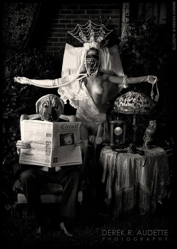 Propaganda Due (Plate VIII) - Photography by Derek R. Audette