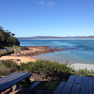 Merimbula is a tourist town, nestled on the far south coast of New South Wales. It's about 500km's south and a six hour drive from Sydney.