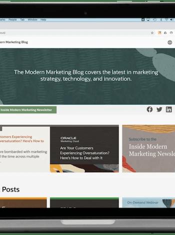 Oracle Modern Marketing Blog