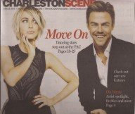 Post and Courier cover and weekly entertainment section, Charleston, SC Courtesy Charleston Scene