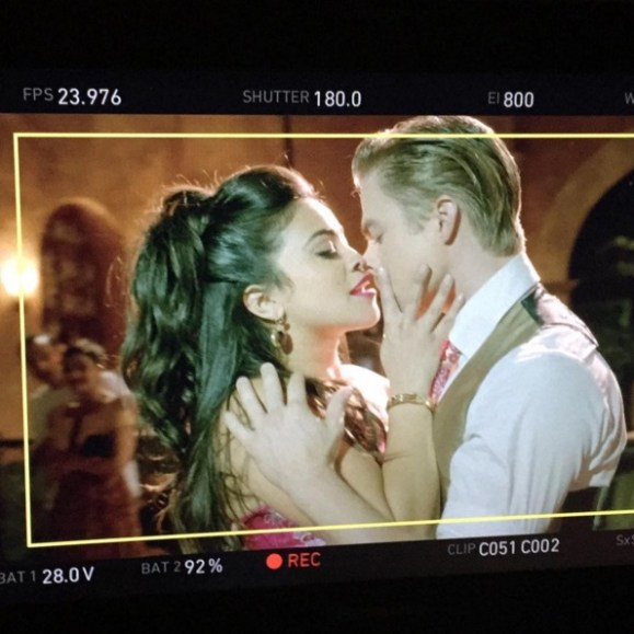 """""""Dayum Gina ! Things were getting spicy on JTV yesterday. @hereisgina can move !"""" - March 24, 2016 Courtesy derekhough IG"""