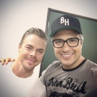 """""""Pleasure meeting you dear @derekhough 🙌👊💥 We're delighted to have you on #JaneTheVirgin #classact"""" - March 23, 2016 Courtesy jaimecamil IG"""