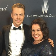 """""""Harvey Weinstein's Pre Oscar Party! #mosessupposes #broadway #derekhough #singingintherain"""" - February 27, 2016 Courtesy jenniedale_actress IG"""