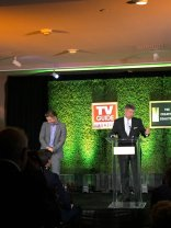 """""""@TheCreativeC Television Industry Advocacy Awards sweet moment @derekhough honoring his father for @SophiesPlaceHFX"""" - September 16, 2016 Courtesy AricAckerman Twitter"""