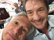 """Harvey Fierstein and Martin Short are a match made in heaven! #HairsprayLive 📷: Harvey Fierstein"" - November 4, 2016 Courtesy nbchairspraylive IG"