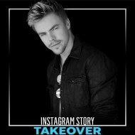 """""""Put on your dancing shoes and join us on our IG story: @derekhough is taking us BTS Hairspray Live rehearsal & DWTS' Halloween show!"""" - October 31, 2016 Courtesy Enews IG"""