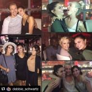 """Couldn't let the week go by without sharing some of the birthday fun last weekend in LA! 🎉💃🏻🎈🎂❤️#birthdaygirl #hayleyerbert #loveher #hayleyis22"" - October 10, 2016 Courtesy debbie_schwartz IG"