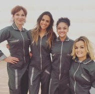 """Team future!!! My girls! @therealmarilu @lauriehernandez_ @terrajole !! Blessed to be on a team with such amazing women!!!! @dancingabc #dwts"" - October 23, 2016 Courtesy kramergirl IG"