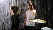 Derek Hough ft. Lindsey Stirling - Kairos - BTS (Screencaps) - October 4, 2016