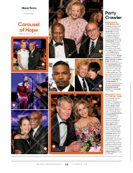 "Hollywood's Night Under the Stars featured on ""The Hollywood Reporter"" issue of October 21, 2016"