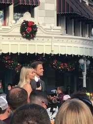 """""""Julianne & Derek Hough are in Disney right now and i feel blessed with her presence"""" Courtesy shaunnagirl tw"""