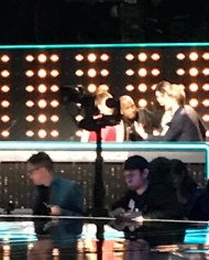 """Snook a pic of @jlo #worldofdance"" - January 16, 2017 Courtesy daniel025913 IG"