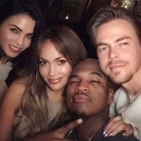 """""""#repost Introducing #WORLDOFDANCE @neyo @derekhough and joining our lil family the lovely @jennaldewan #comingsoon #NBC ™@jlo"""" - January 4, 2017 Courtesy derekhough IG"""