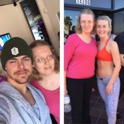 """Thank you @derekhough and @juleshough for an awesome #moveinteractive today! 🌟You are both so caring and supportive of your fans and I really appreciate it! ❤ Huge shout out to @markpulse for your fabulous training!"" - January 14, 2017 Courtesy laurenhouseworth IG"