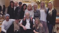 Derek, Jules and the whole family is gathered in Las Vegas to celebrate Marriann's 60th birthday - February 25, 2017 courtesy juleshough IG