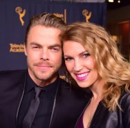 """When you get to interview one of your favs! #congrats to @derekhough and to all other #choreographers for their new peer group being being recognized by the @televisionacad last night. ❤ #dance #artist #supportthearts #choreographer #dancer #televisionacademy 💃🏼"" - February 16, 2017 Courtesy keetinmarchi IG"