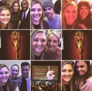 """My first Television Academy event was a blast! So glad it was #whosdanceisitanyway I cannot even begin to describe the level of talent I got to be in the same room with tonight. Pictures with Mandy Moore who choreographed #lalaland along with about a million other routines I love. @sir_twitch_alot and @allisonholker from #sytycd and #dwts were the sweetest! My fave @derekhough was there. @hayley.erbert is gorgeous. Meeting @nappytabs was a dream of mine ever since I watched their Outta Your Mind dance on #sytyd a few years ago. And @katmburns the choreographer of #mycrazyexgirlfriend was there too! So insane. Also not pictured is @traviswall who performed a dance he choreographed that blew me away. Such an awesome night! I still can't believe I got to be apart of that! #thankyou #televisionacademy"" - February 16, 2017 Courtesy thealexislemos IG"