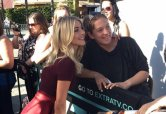 """""""So much fan love today for @juliannehough & @derekhough at @UniStudios! ❤ #MoveBeyond"""" - March 7, 2017 Courtesy extratv twitter"""
