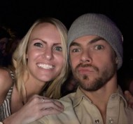 """""""I guess even rough pictures with @derekhough are good pictures, yes? 🙈 #moveliveontour #movebeyond #derekhough"""" - Move Beyond - Lancaster, Pennsylvania - April 29, 2017 Courtesy amysuuuue IG"""