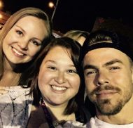 """""""Still in shock...what an incredible experience ❤️#moveliveontour #julianneandderekhough #movebeyond #derek #jules #withmygirl #fun #experience #seriouslyamazingshow #poorpeoplesVIP @derekhough @juleshough @missavita8"""" - Move Beyond - Rochester, New York - April 26, 2017 Courtesy kaitlyndawn48 IG"""