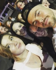 """""""I think it's safe to say, it was a very good #girlsnight with @sarah_reynolds0620 and @danielleemorgan 😍😍😍 @derekhough #MoveLiveTour #MoveBeyond #dwts #dancingwiththestars"""" - Move Beyond - Rochester, New York - April 26, 2017 Courtesy larissanicole95 IG"""