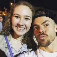 """""""I can't believe that I just met Julianne and Derek Hough at the #movebeyondliveontour 😍🤗 best pre graduation present ever!!🎉🎉"""" - Move Beyond - Rochester, New York - April 26, 2017 Courtesy marissaamcknight IG"""