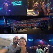 """Date night with the wifey, what a great show! #movebeyond #movebeyondliveontour"" Courtesy Courtesy ig"