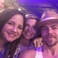 """Our night was made!! Not only did we get to see Derek & Julianne Hough live for the THIRD time, we also got to meet them!! They put on an amazing show!! 😍"" Courtesy staceyhauseyy ig"