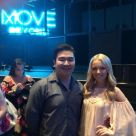 """My best friend got us tickets to Move Live. Then he got pulled on stage to dance with Julianne Hough, and he NAILED IT! #practicallyfamous 😜 #prouddancepartner @tinphamtran"" Courtesy Courtesy ig"