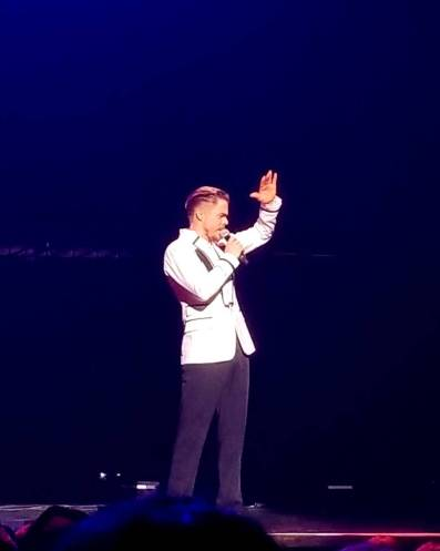 """My man😍 #MoveBeyond #MoveBeyondLiveTour #DerekHough"" Courtesy lydianne93 ig"