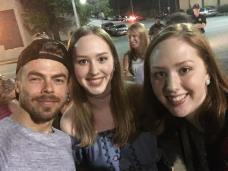"""""""Move Beyond concert was amazing! And I can't believe I got to meet Derek Hough💙 #moveliveontour #movebeyond"""" courtesy brooke_smith30 ig"""