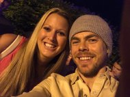 """@derekhough what an amazing show!!! Everyone was fantastic thanks for taking a picture with me your so sweet!"" - Move Beyond - Uncasville. Connecticut - April 30, 2017 Courtesy BrittRose_09 twitter"